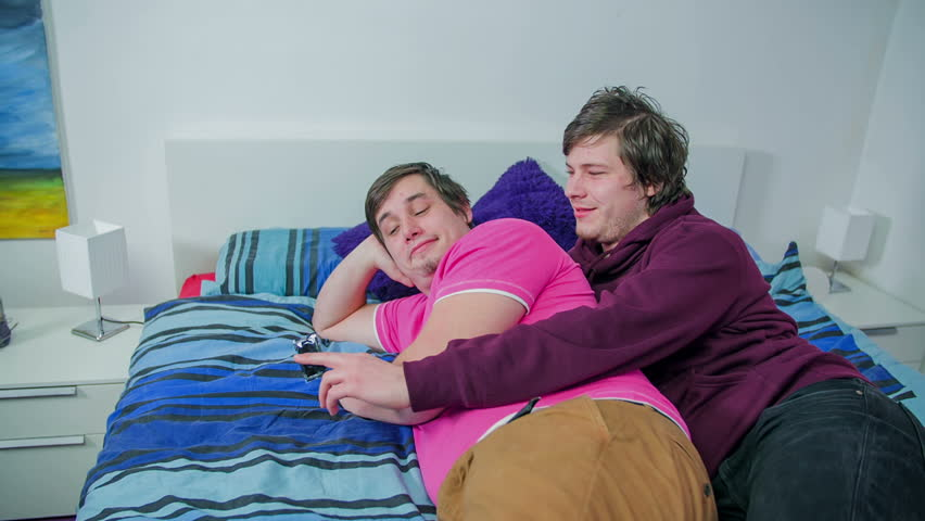 Attractive lesbian couple sitting talking and hugging slow motion 4k00:23Homosexual couple, gay people, lesbian women, same sex.