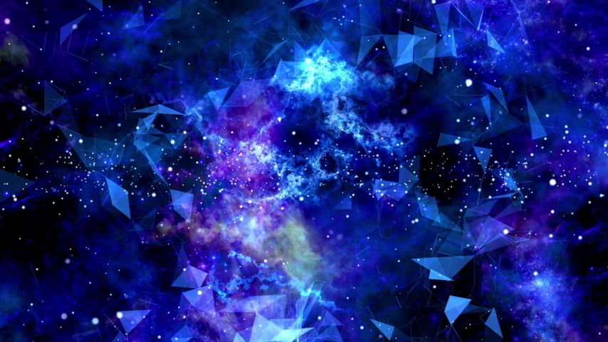 Colorful and abstract space loop background   Shutterstock HD Video #1031642672