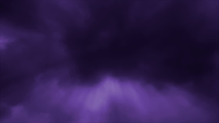 Looping Motion Background with Purple Time Lapse Clouds and Penetrating Light Rays at 1920x1080 pixels HD.