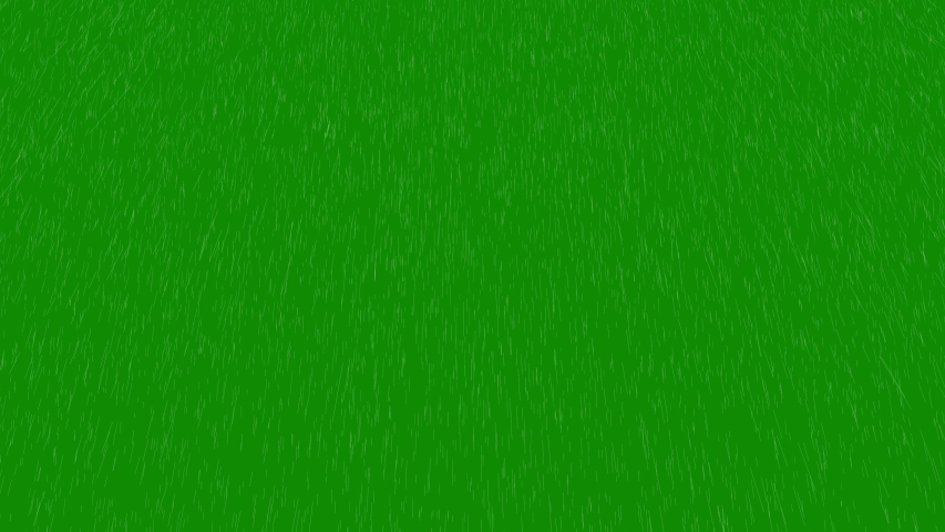Rain falling on the green screen. Rainfall 4k animation | Shutterstock HD Video #1033551782