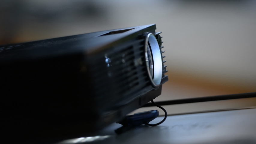 Presentation projector close up up | Shutterstock HD Video #1035330512