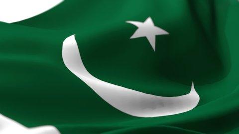 Transparent Flag Pakistan Animated for Pakistan