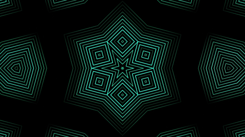 Abstract animation of sequence multicolored graphics ornaments patterns rotating on black background. Animation. Hypnotic kaleidoscope with abstract multicolored neon graphics.   Shutterstock HD Video #1035659822