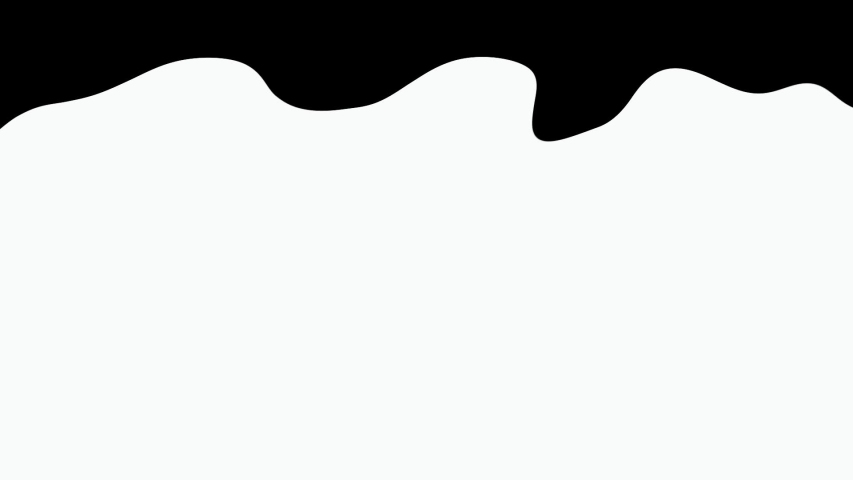 Black and white Ink water transition pattern background animation #1036034492
