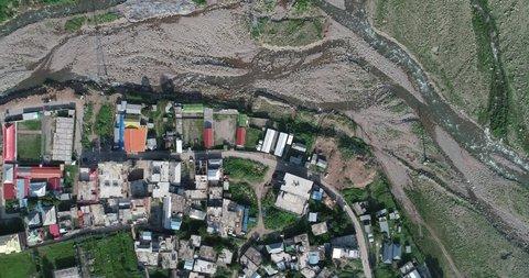 Bagh City Kashmir top view