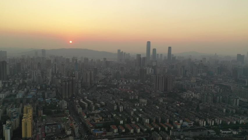 China's Changsha City Architecture Landscape | Shutterstock HD Video #1037157152
