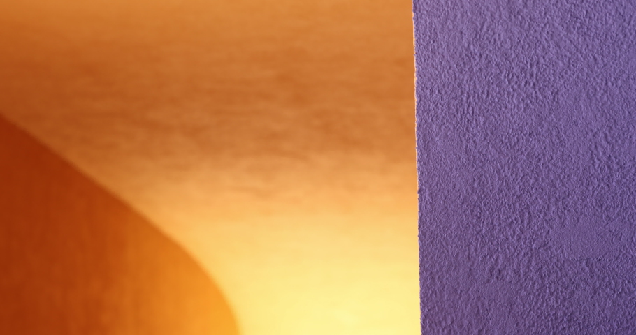 Architecture color background detail orange and purple contrast | Shutterstock HD Video #1037304182