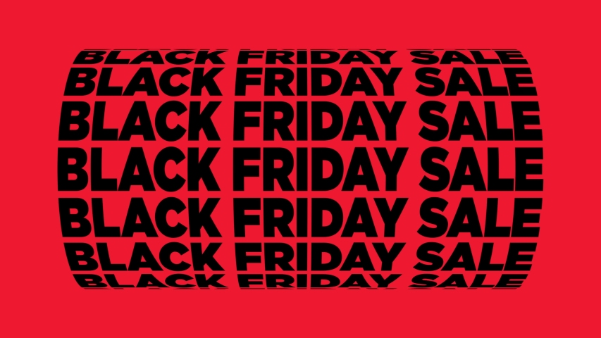 Black Friday Sale Spinning Text Animation | Shutterstock HD Video #1037386352