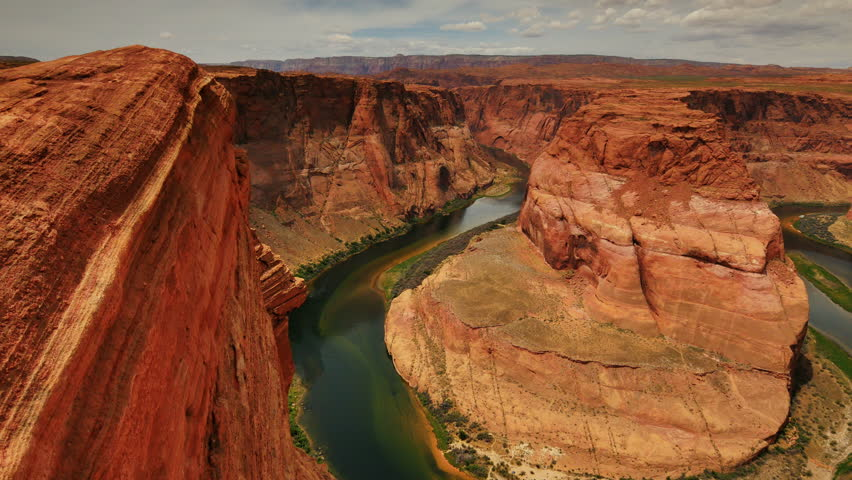 Horseshoe Bend Dolly 05 Colorado River | Shutterstock HD Video #10394012