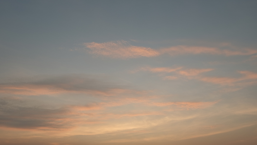 4K Time lapse, beautiful sky with clouds background, Sky with clouds weather nature cloud blue, Blue sky with clouds and sun, Clouds At Sunrise.   Shutterstock HD Video #1041015662