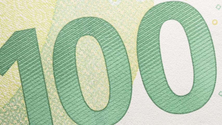 Hundred Euro cash macro view. 100 Euro Cash Stop Motion. Background Bill Sign Eu Fiat Money. Financial Crisis. Stop Motion Texture of 100 Eu Bill. Concept - Finance Business Investment Success   Shutterstock HD Video #1041759322