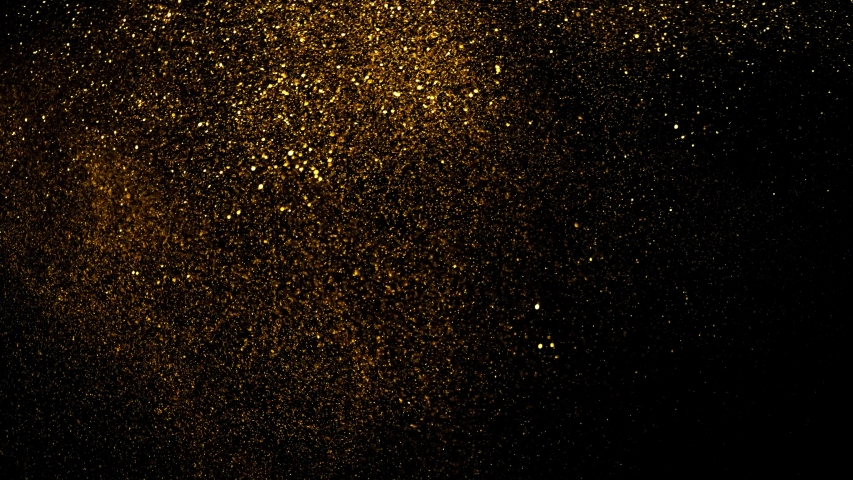 Gold ink in water shooting with high speed camera. Golden glitter sand or dust creating abstract cloud formations metamorphosis. Art backgrounds.  Super Slow Motion at 1000fps. | Shutterstock HD Video #1041915232