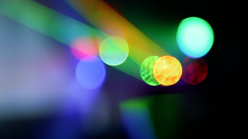 People dancing at party. Unrecognizable silhouette crowd in nightclub with disco light.  soft focus   Shutterstock HD Video #1042346152