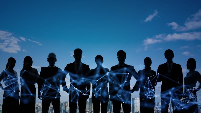 Global communication network concept. Worldwide business.   Shutterstock HD Video #1042778812
