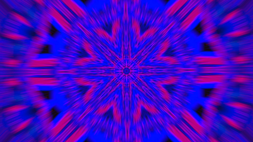 Psychedelic geometrical mandala, colorful motion graphic for yoga shows. ProRes codec.   Shutterstock HD Video #1043174332