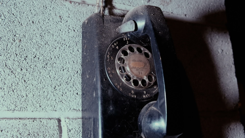 An old dusty dialing phone   Shutterstock HD Video #1045002742