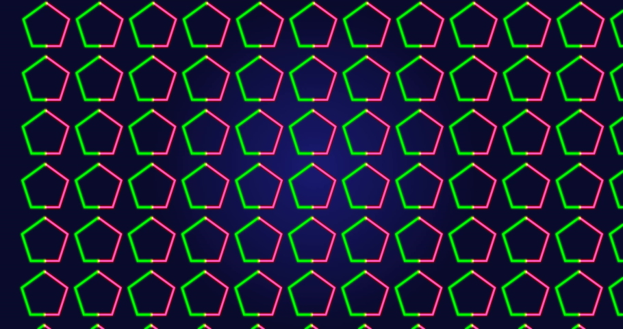 Trendy minimalist polygonal abstract neon-colored background. High quality rendered minimal animated background animation.    Shutterstock HD Video #1045231372