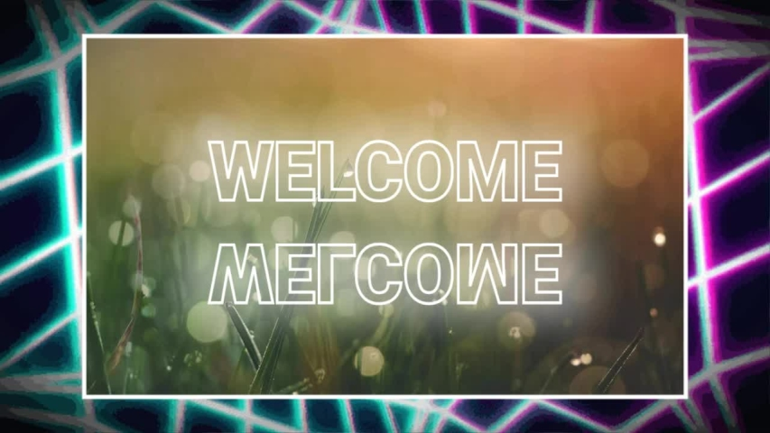 Welcome word greeting style animation | Shutterstock HD Video #1046446852