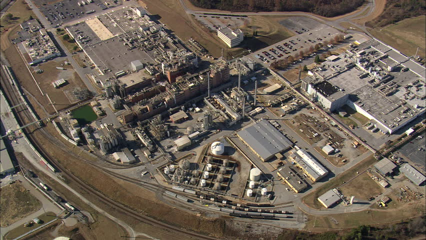 AERIAL United States-Industrial Site 2008 | Shutterstock HD Video #10465382