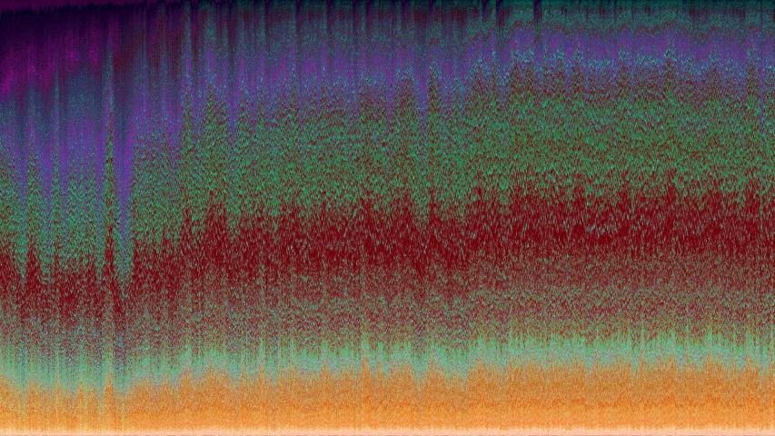 Pixels waves interferences, saturated audio waveform, loop | Shutterstock HD Video #1046852032