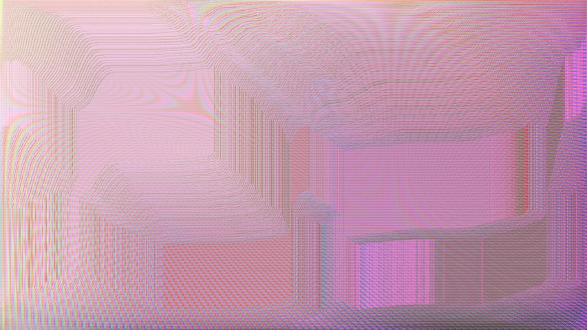 Glitch pink visible pixel screen surface, loop | Shutterstock HD Video #1046852872
