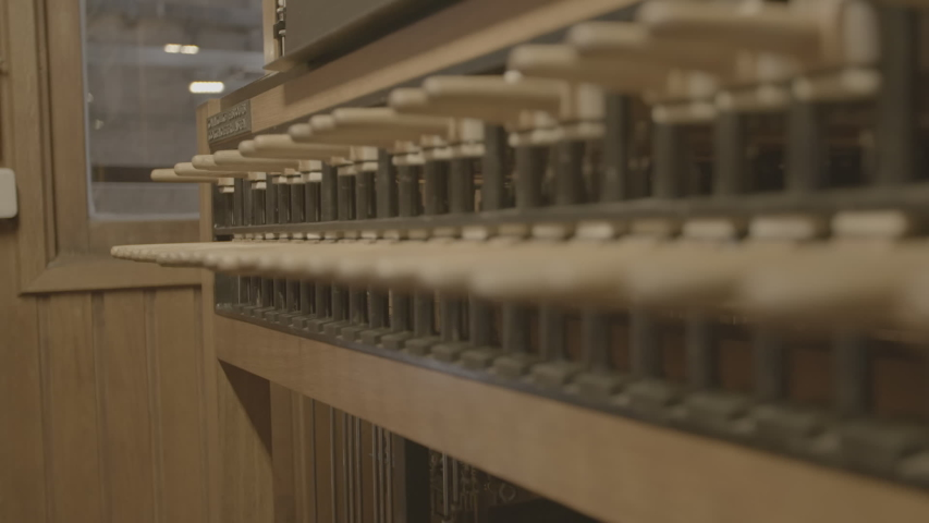 Playing a Carillon in a church | Shutterstock HD Video #1046992012