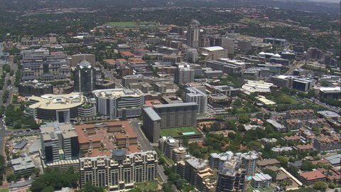AERIAL South Africa-Sandton City 2009