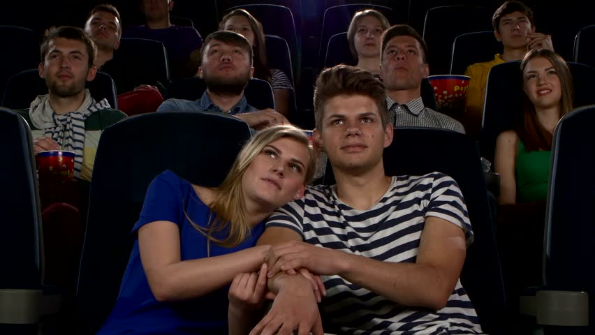 Image result for lovers watching movie in hall