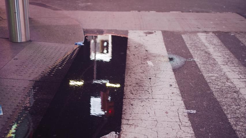 New York streets empty during coronavirus | Shutterstock HD Video #1048900402