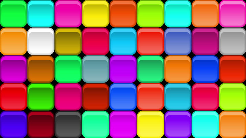 Moving Color Tiles fullhd 1920x1080 progressive seamlessly looping video of colorful