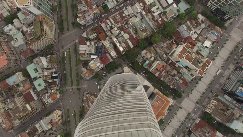 Aerial Top Down View The Stock Footage Video 100 Royalty
