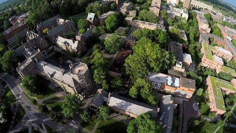 28.06.2015, Princeton, NJ - An aerial view of the Princeton University campus