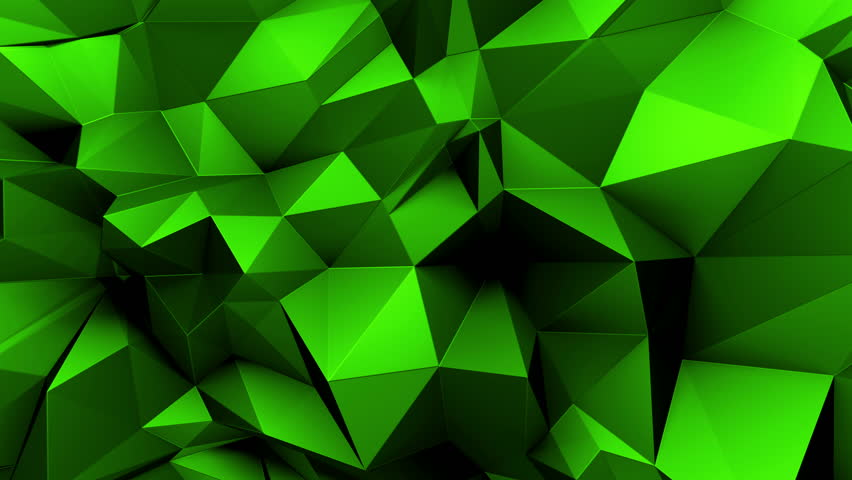 Fondo Geométrico: Stock Video Of 3d Abstract Geometric Background With Sharp