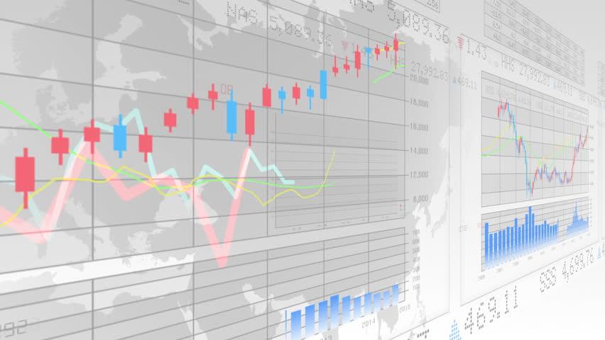 Financial Business Graph. | Shutterstock HD Video #10762292