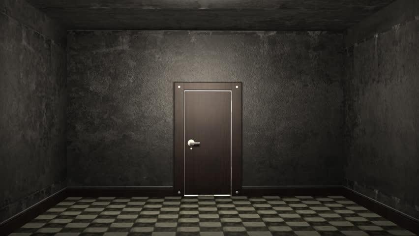 Stock Video Clip of Door opening and illuminating a dark room | Shutterstock & Stock Video Clip of Door opening and illuminating a dark room ...