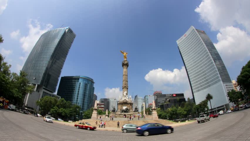 MEXICO CITY CIRCA JULY 2015 ILLUSTRATIVE IMAGE TIME LAPSE ZOOM
