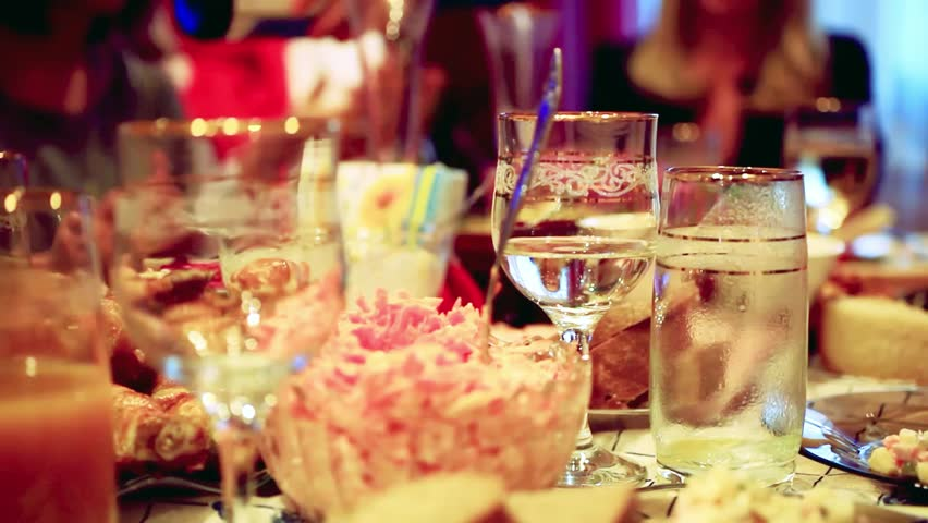 Dinner Is Served 2 Stock Footage Video 4627295 Shutterstock