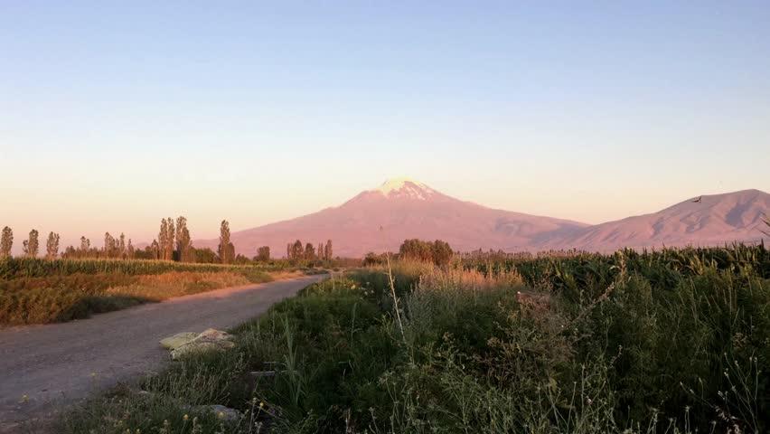 Mount Ararat In Turkey Stock Footage Video 10991759 | Shutterstock