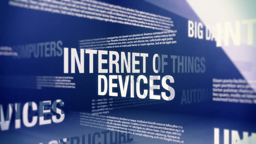Internet of Things Related Terms Seamlessly Looping Animation | Shutterstock HD Video #11007131