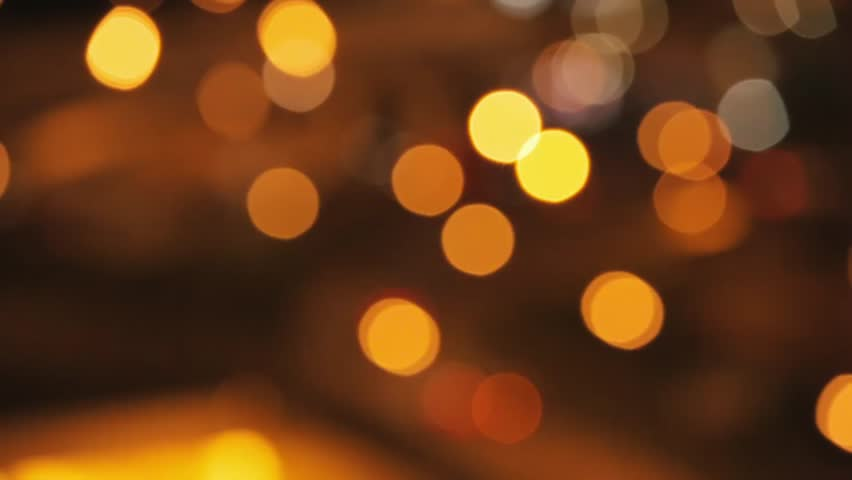 Fresh Bokeh High Quality Wallpaper Download Bokeh: Gold Bokeh Lights In Motion In 4 K. High Quality Render Of