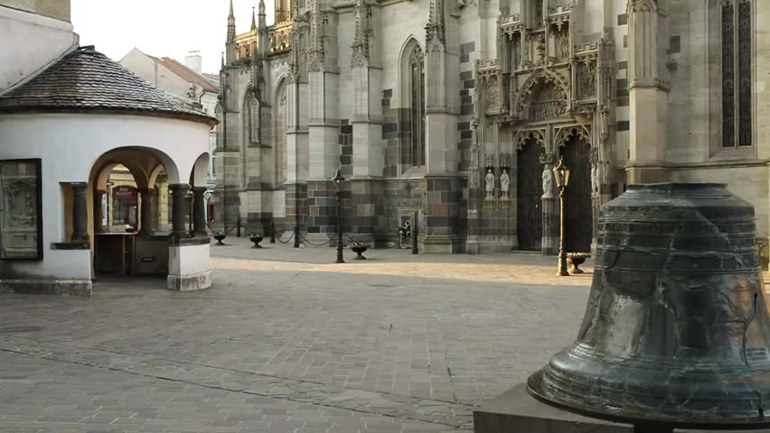 The St  Elisabeth Cathedral is Stock Footage Video (100% Royalty-free)  11427152 | Shutterstock