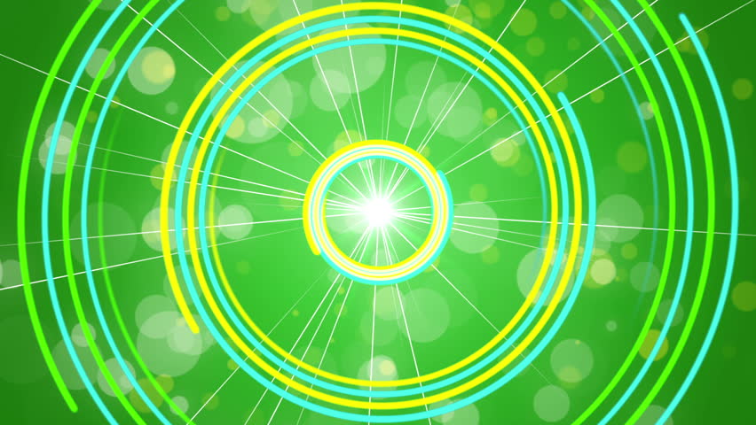 Green abstract background, rotating spiral, loop | Shutterstock HD Video #11629052