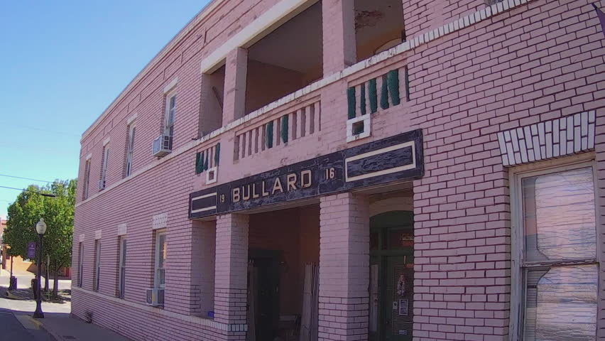 silver city nmusa july 11 2015 shot of an early 20th century brick apartment building in silver city new mexico clip features a view of an old pink - Brick Apartment 2015