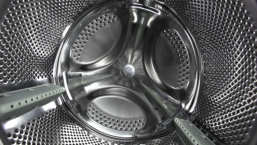 Washing Machine Drum Inside Stock Footage Video 1190788