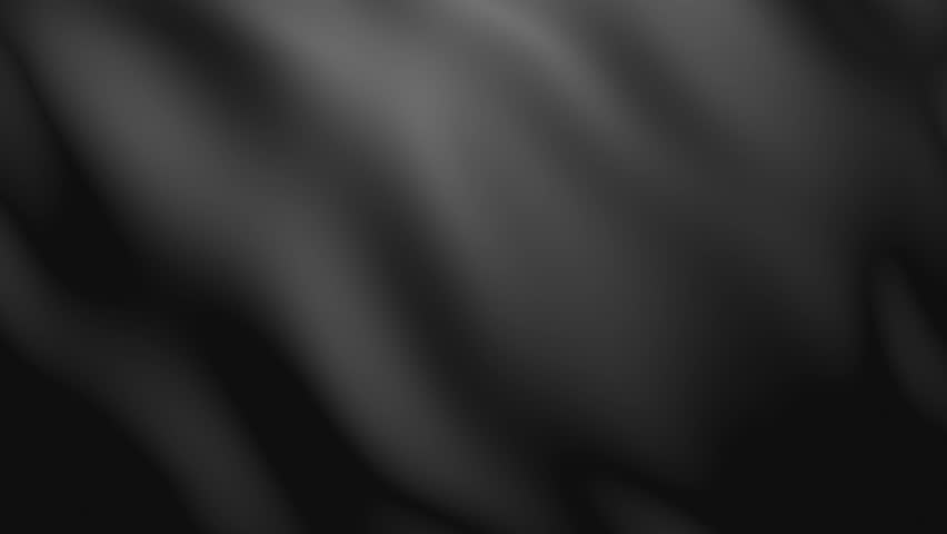 Black Satin Fabric Waving In The Wind; Background Texture ...