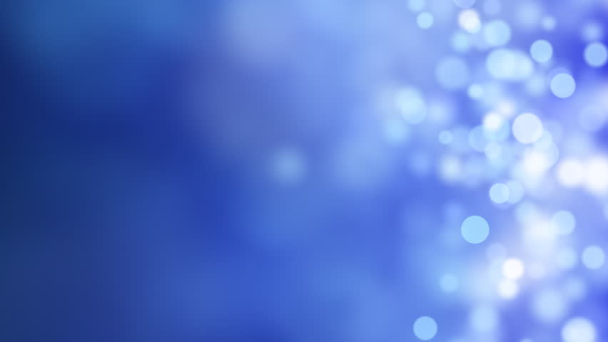 Light Effect Hd Wallpaper Background Images: Blue Abstract Lights Bokeh Background Loop 1080 Stock