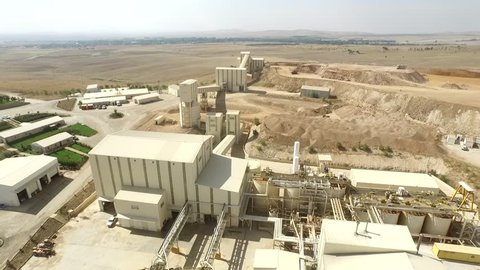 Airview of Gold Mining Plant