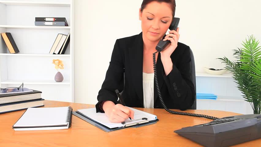 Bilderesultat for office talking in phone