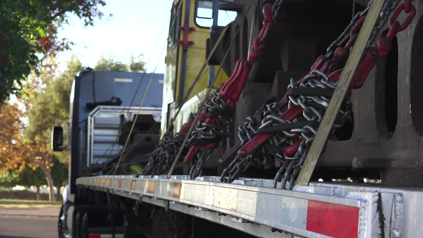Big Rig Semi Trucks Carrying Stock Footage Video (100% Royalty-free)  12015992 | Shutterstock