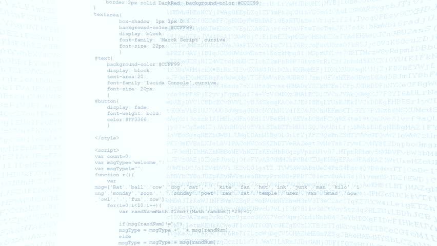 Camera move through pieces of software source code   Shutterstock HD Video #12033272
